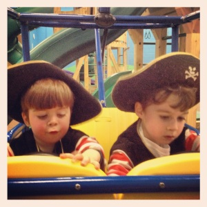 though maybe raising them as pirates would work, too